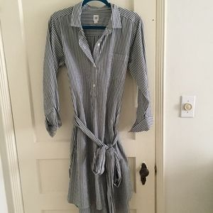 Gap Collared Wrap Dress